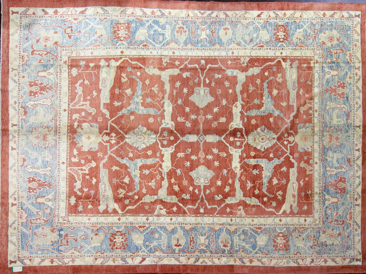 OUSHAK - WOOL/WOOL - 14,00x10,05=145,83 ft²